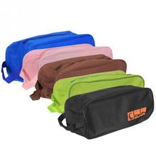 Practical Waterproof Travel Storage Shoe Bag Clothes Bra Cosmetics Shoes Packing Bag Zip Transparent Box Case Suitcase Pouch(China)