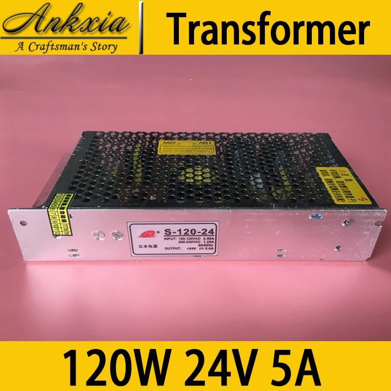 120W 24V 5A Professional Laser Cutting Machine CNC 3D Engraver Printer Transformer <br>