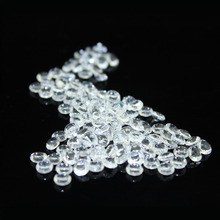1000 pcs/ pack Diamond Wedding Table Scatter Acrylic Crystals Confetti Decoration Gems 8mm /clear(China)