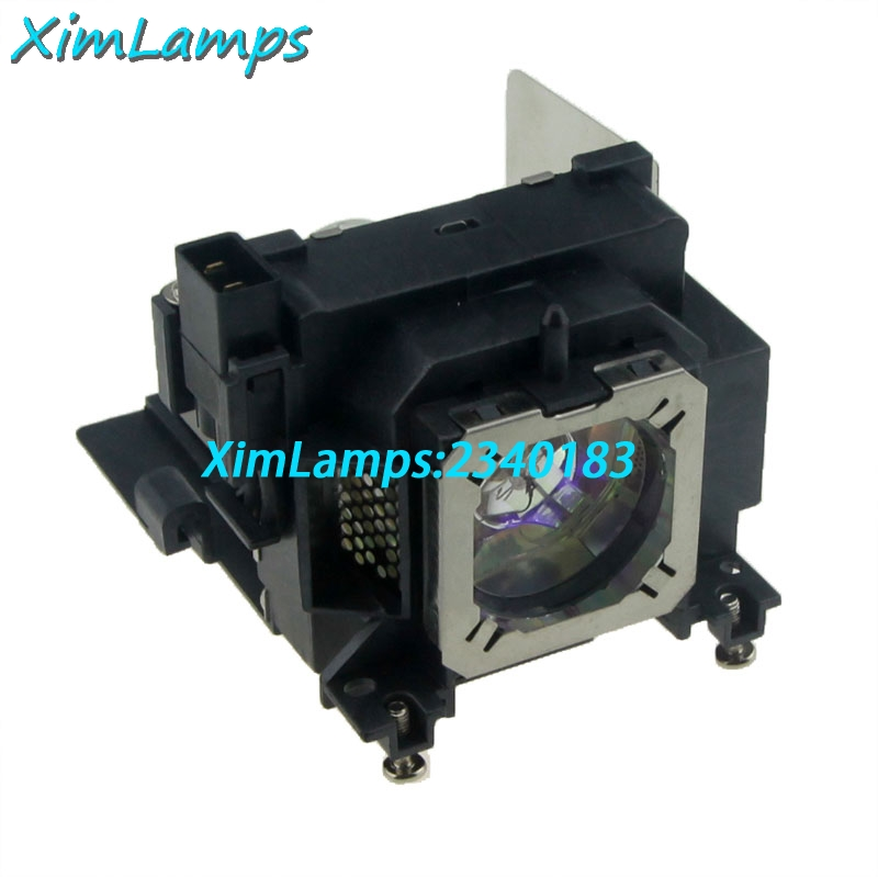 XIM Lamps Replacement Projector Lamp ET-LAL100 with Housing for Panasonic PT-LW25H PT-LX22 PT-LX26 PT-LX26H PT-LX30H<br>