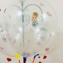 Buy OCDAY Baby Balloon 36 Inch Round Shape Baby Doll Inflatable Toy Clear Balloon Romantic Valentines Day Wedding Balloons Supplies