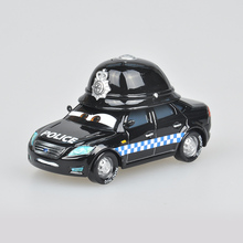 Pixar Cars 2 Mark Wheelsen Gray UK Police 1:55 Scale Diecast Metal Alloy Modle Cute Toys For Children Gifts Lightning McQueen