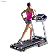 ANCHEER 2017 New 3.0HP DC1.0-14 km/h Foldable Electric Treadmill Exercise Equipment Machine Home Gym Hot sale