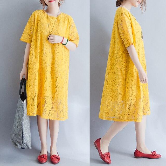 Aliexpress.com : Buy New Maternity Dress Plus Size Lace Dresses ...
