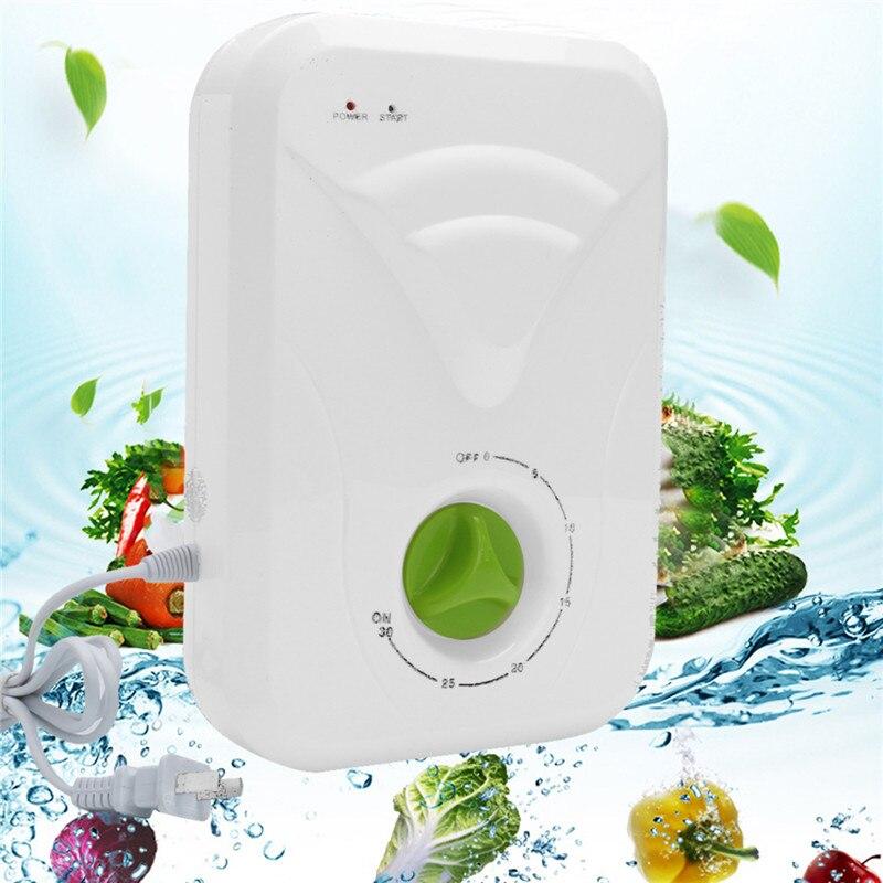 US Plug 400mg/h Generator Ozonator multifunctional Fresh Purify Water Generator Air Purifier Fruit Vegetable Sterilizer 15W 220V<br>