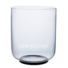 "Buy TOPFUND D# Note Sexual Chakra Clear Quartz Crystal Singing Bowl 6"" ,O ring Mallet included,For Meditation yoga practice"
