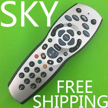 (1 pieces/lot) High Quality Universal TV Television Replacement Remote Control Controller For Sky+HD Rev9 Sky HD Silver+Black