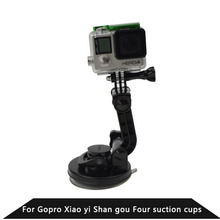 For Gopro Accessories Universal Car Sucker Holder Mount Suction Cup For Go Pro SJ4000 SJ5000 Mini Camcorder Action Camera DVR