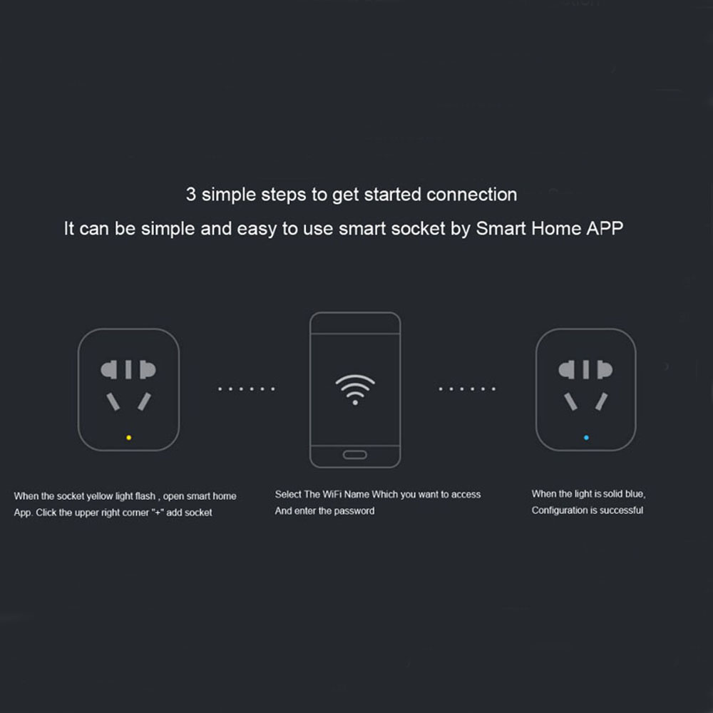 100-Original-Xiaomi-Smart-Socket-Plug-Bacic-WiFi-Wireless-Remote-Socket-Adaptor-Power-on-and-off
