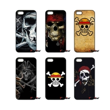For iPod Touch iPhone 4 4S 5 5S 5C SE 6 6S 7 Plus Samung Galaxy A3 A5 J3 J5 J7 2016 2017 pirate flag One Piece Straw Hat Case