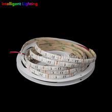 5m 60leds/m 5050 led strip UV Ultra Violet purple 395-405nm Black/White PCB Waterproof in silicon coating IP65 DC12V