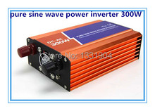 Pure sine wave inverter 300W 110VAC 100VAC 220VAC 230VAC 12VDC 24VDC, CE ROHS, Solar Inverter, Power inverter, Car Inverter