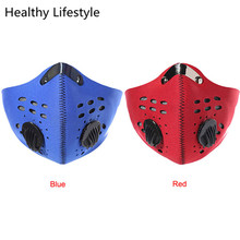 New Bicycle Riding Motorcycle Riding Mask Protect Face Wind Mask Active Carbon Bike Cycling Riding Accessories Hot Sale Feb 14
