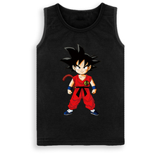 Dragon Ball SON Goku T-shirt Brand VEST BOY Children Clothing Summer Waistcoat Boy's Vest Outerwear&Coats ropa ninos DC886(China)