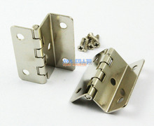 20 Pieces Triple Fold Jewelry Box Hinge Small Hinge 41x35mm with Screws