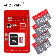 Real capacity microsd memory Card 8GB 16GB 32GB 64GB 128GB micro sd card mini TF card cartao de memoria with free adapter(China)