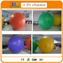 2m non printing inflatable advertising Helium Balloon Ball PVC helium balioon /inflatable sphere/sky balloon
