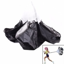 1Pc Football Exercise + Bag Increase Speed Soccer Equipment Speed Resistance Running Training Parachute Running Chute