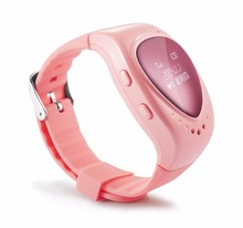 Toogee GPS Navigator Travel Hnnded Watch Portable New Personal Tracker Smart Watch SOS Phone Watch for Girl (Pink ) TK89