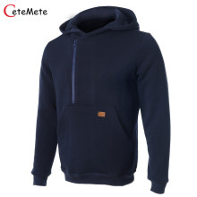 2017 Fashion Brand Clothing hoodies Men Hombre Sweatshirt Hoodie Male Sweatshirts Plus Size Casual Hoodies Navy Blue Coat