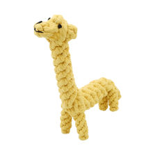 2017 New Chew Toys Cute Giraffe Models Cotton Rope Pet Toys Useful Molar Dog Toys Clean Teeth Rope Pet Toys For Teath