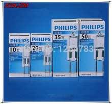 Hot G412V 10W / 20W  G5.3 12V35W  G6.35 12V50W bulb inserted beads crystal lamp halogen bulb 10pcs / lot free shipping!
