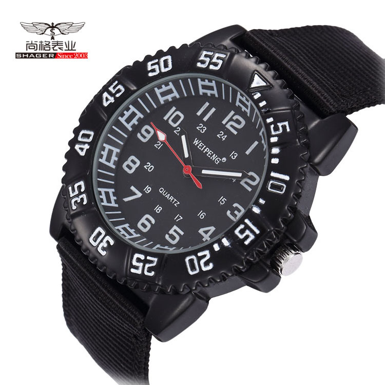 Military Army Men Watch Water Resistant Luminous Outdoor Sport Watches For Men Big Dial Nylon Band Relogio Masculino Relojes<br><br>Aliexpress