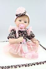 Wholesale realistic simulation reborn baby doll soft silicone vinyl real gentle touch newborn baby doll imported hair