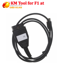 New FOR FI AT KM TOOL Odometer Mileage Correction Programmer FOR FI AT KM TOOL via OBD2 auto tools via OBD2(China)