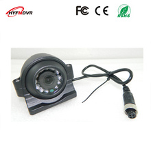 Factory direct selling 1080P/960P 3 inch metal side mounted SONY 600TVL monitor head bus / truck waterproof camera(China)