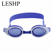 LESHP New Cartoon Design Children Kid Swimming Goggles Boys Girls Anti-Fog Waterproof Swim Eyewear Goggles Comfortable For Wear