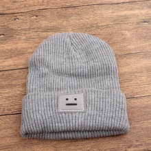 New Robot Hat Winter Baby Girl Boy Beanie Elastic Knit Kids Caps Children Accessories 4 Colors