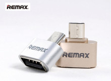 REMAX OTG USB Plug Adapter Portable Mini Adapter Converter Micro USB to USB A For Samsung/Xiaomi/Huawei Android Phones