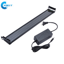 74CM 108 LED Fish Tank Light Aquarium Lights Lighting Lamp Submersible Underwater Lamps For Aquarium Fish Supplies(China)