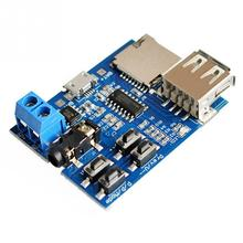 TF card U disk MP3 Format decoder board module amplifier decoding audio Player(China)