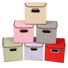 YOLALA Large Non-Woven Fabric Storage Box Toys Organizer Sundries Clothing Storage Box Bin Underwear Storage Bag Socks