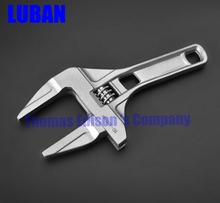 Mini Wrench small adjustable wrench spanner oversized openings stalked slim drainer plumbing tools