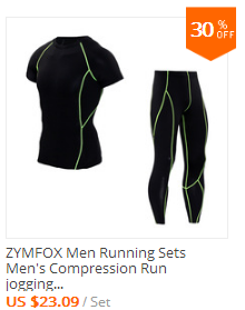 men running sets jogging suits