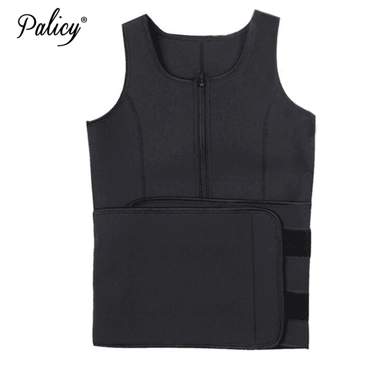 Palicy Neoprene Sauna Vest Body Shaper Slim Waist Trainer Fashion Fajas Girdle Workout Shapewear Adjustable Sweat Belt Corset 7
