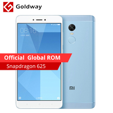 "Original Xiaomi Redmi Note 4X 4GB RAM 64GB ROM Mobile Phone Snapdragon 625 Octa Core 5.5"" FHD Fingerprint ID 4100mAh Battery(Hong Kong)"