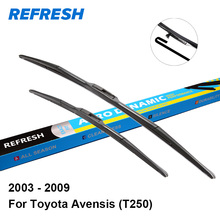 "REFRESH Wiper Blades for Toyota Avensis T250 Mk2 24""&16"" Fit Hook Arms 2003 2004 2005 2006 2007 2008 2009"