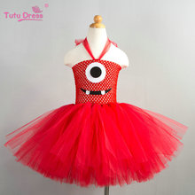 Tutu Dress New Baby Girls Cartoon Mouse Pattern Dress High Quality Tulle Tutu Dresses Girl Christmas Costume