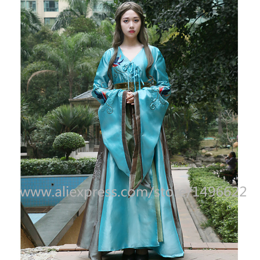 Custom Made Game of Thrones Queen Cersei Lannister Green Exclusive Dress Costume Adult Women Dance Party Cosplay Costume