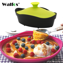 1 pcs Kitchen Microwave Oven Steamer Soft-paste Silicone Folding Bowl Baking Fish Steam Roaster Bread Food Tool color random(China)