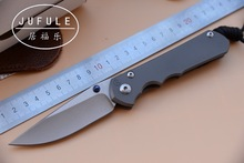 JUFULE MADE Large Sebenza 25 CPM S35vn TC4 titanium handle folding vegetables fruit pocket camping hunt EDC tool kitchen knife