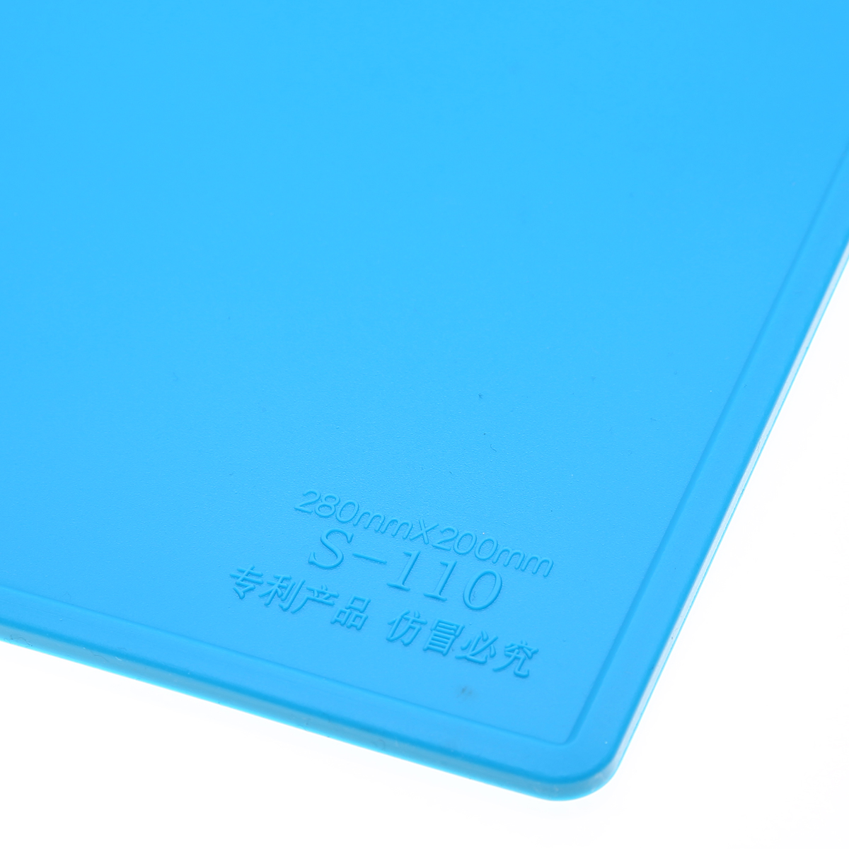 1pc Silicone Soldering Pad Heat-resistant Hot Gun BGA Solder Mat Repair Maintenance Platform Repair Tool