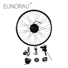 EUNORAU 36V250W front Electric Bike Conversion Kit Brushless Hub Motors 20'' 26'' 28''