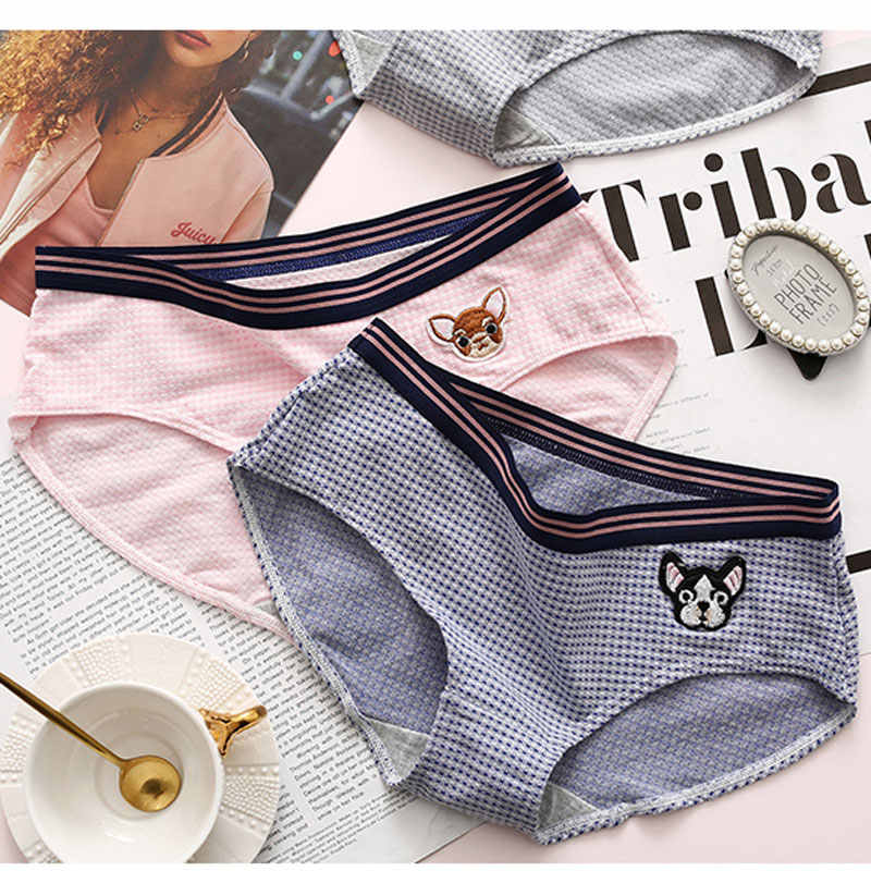 ... Janpan estilo lindo Animal Niñas Ropa interior de algodón transpirable ropa  interior sin costuras sólido mujeres Kawaii Tango escritos en  Aliexpress.com ... 0f5c771b368c