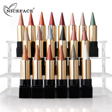 NICEFACE 20 Colors Professional Luminous Glitter Matte Shimmer Eye Shadow Palette Stick Applicator Cosmetic Makeup Easy to Wear(China)