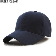 (BUILT CLEAR) snapback men's casual baseball cap male female white baseball cap hip hop hat pink black baseball cap wholesale